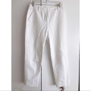 Kate Spade white cotton pants Size 4